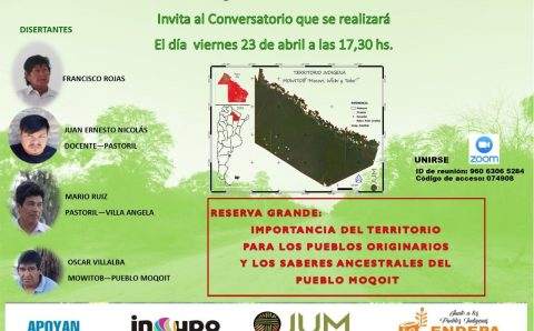 conversatorio de Reserva Grande Importancia del Territorio para los Pueblos Originarios y los Saberes Ancestrales del Pueblo Moqoit